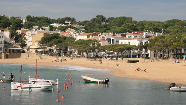Barque Llafranc en Espagne