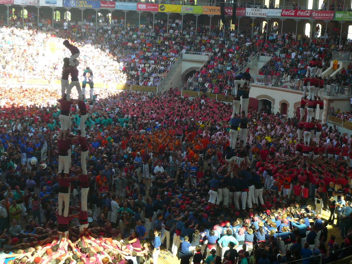 Tour humaine Espagne
