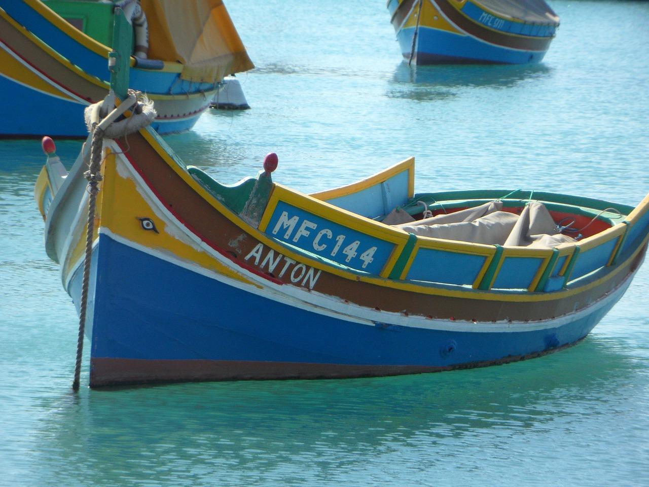 barque à Malte