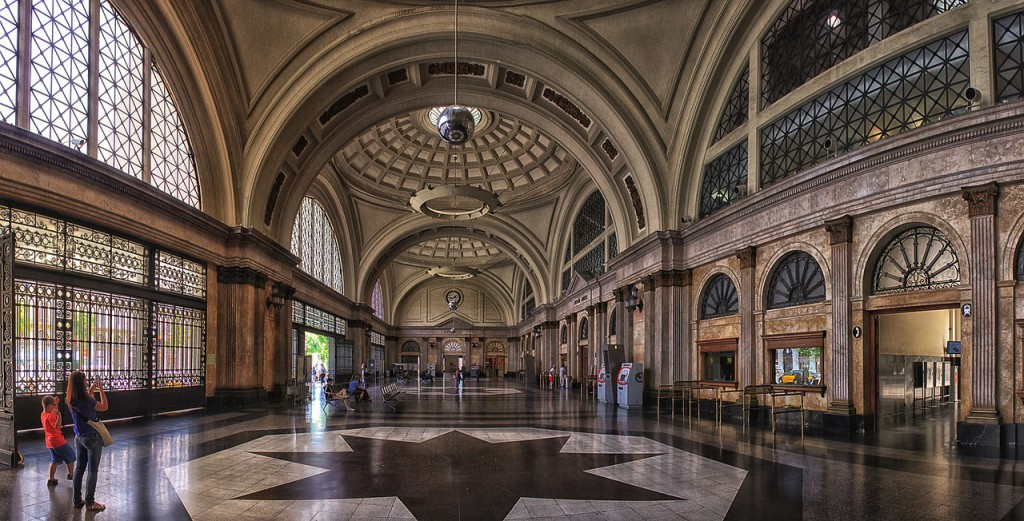 La gare ferroviaire de Barcelone