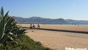Front de mer de la station balnéaire d'Empuriabrava, Espagne