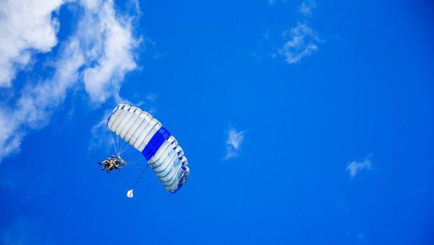 saut en parachute italie