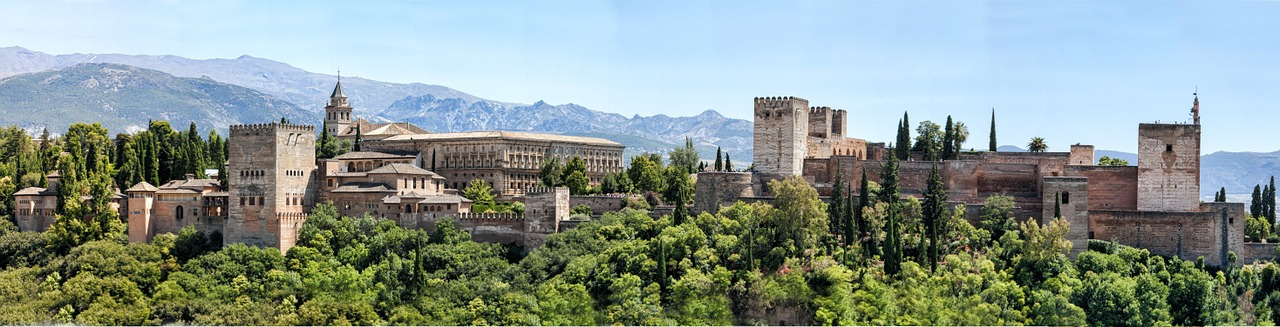 Le palais de l'Alhambra à Grenade