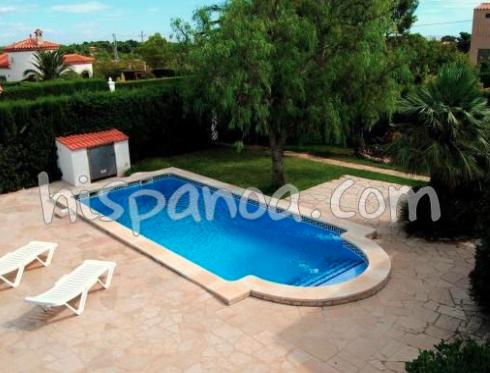 villa piscine privée espagne