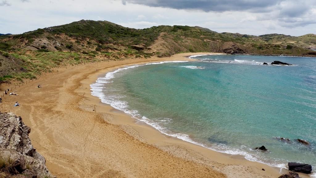 vacances espagne, plage Cala Blanca